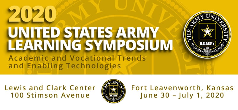 2020 United States Army Learning Symposium artwork