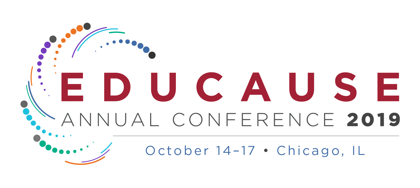 EDUCAUSE 2019 Conference artwork