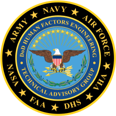Department of Defense Human Factors Engineering Technical Advisory Group logo