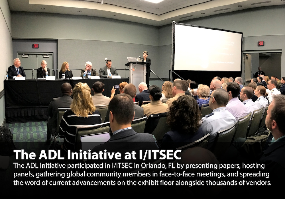 ADL Initiative at I/ITSEC