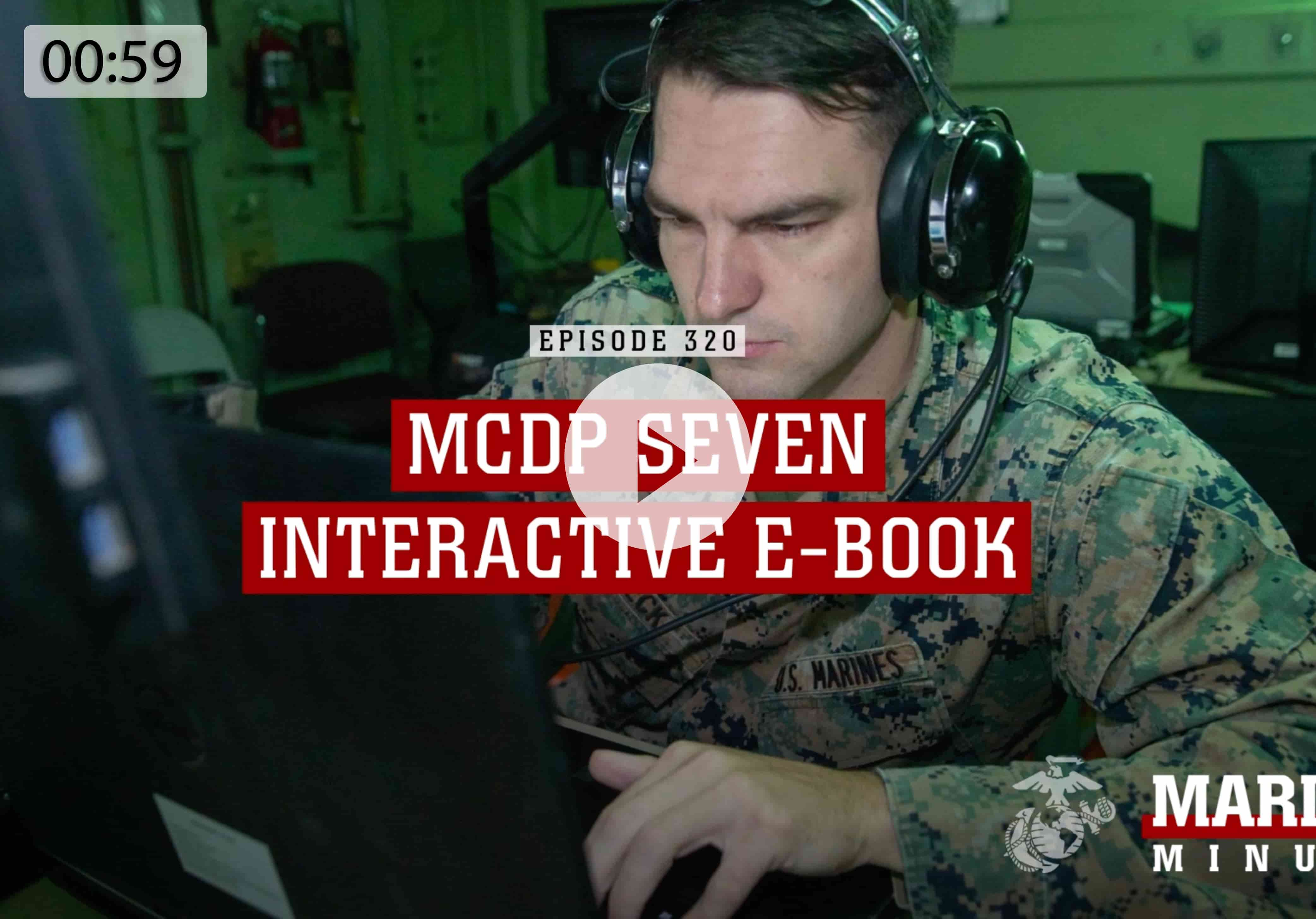 See a video about the U.S. Marine Corps Training and Education Command (TECOM) releasing an interactive e-book
