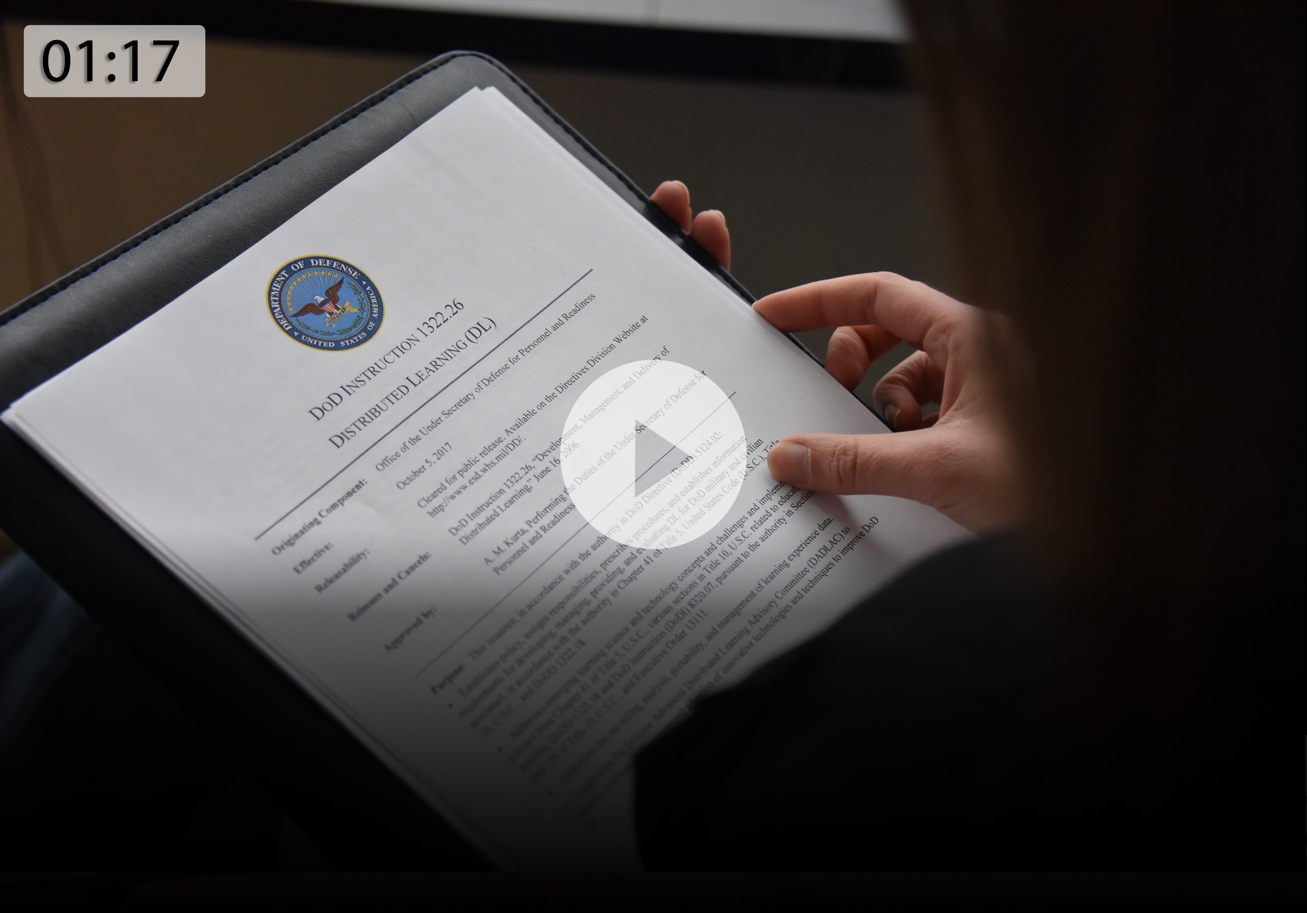 The Advanced Distributed Learning (ADL) Initiative is a government program reporting to the Office of the Secretary of Defense. This video provides a brief overview of the purpose, reach, and effect of the ADL Initiative on the DoD community and beyond.