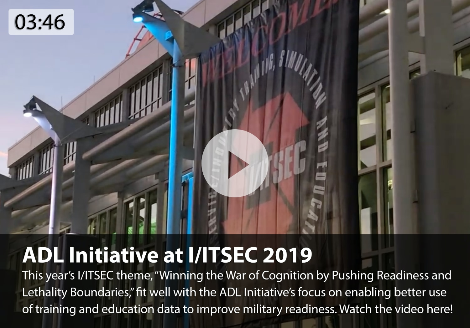 ADL Initiative at I/ITSEC 2019