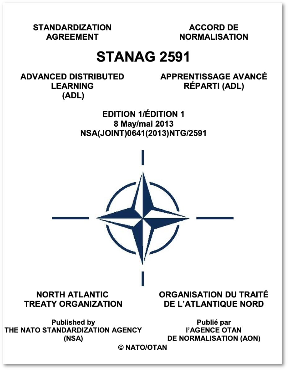 STANAG 2591 cover page