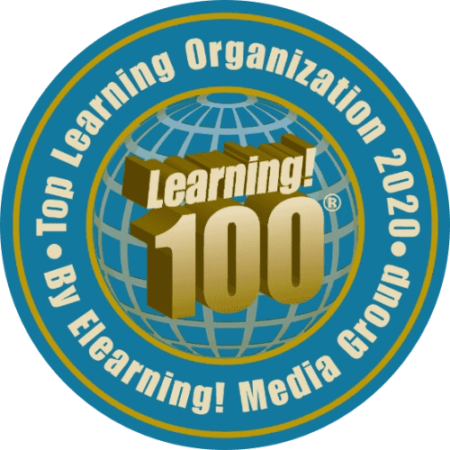 Learning 100! Top Learning Organization 2020 artwork